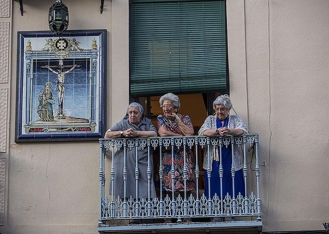 Santa María del Prado bendice la ciudad en la Octava