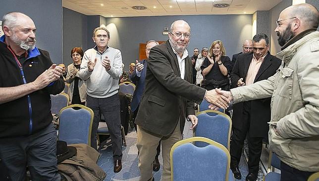 Clemente e Igea buscan en la capital el voto de Cs Eva Garrido