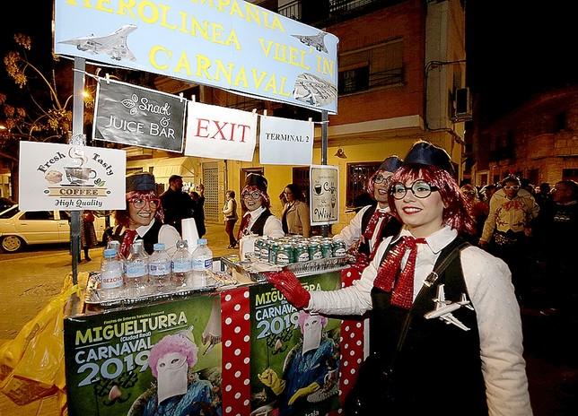 Arranca el Carnaval  Fotos Rueda Villaverde