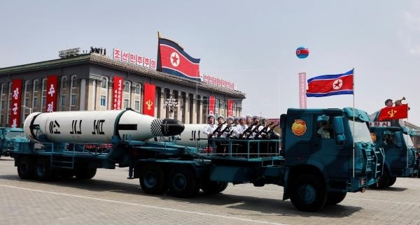 Corea del Norte lanza dos proyectiles hacia el mar de Japón