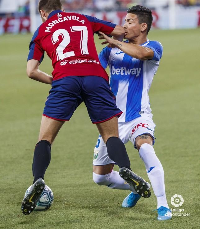 Moncayola cuajó una gran actuación en su debut con el primer equipo