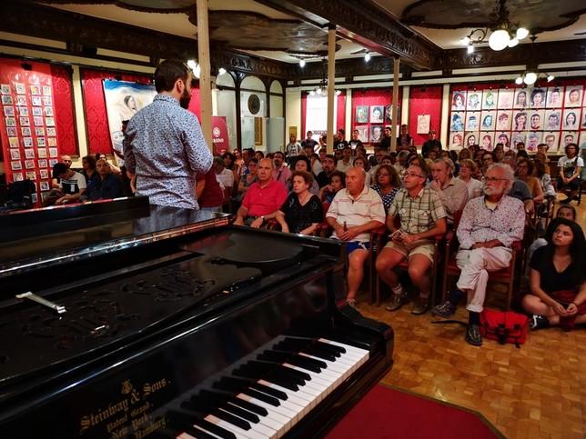 Jóvenes de toda España llenan de música el Círculo Amistad