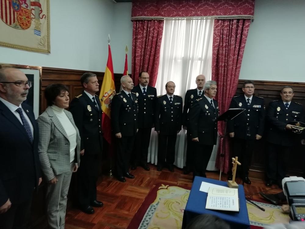 Honorio Pérez, nuevo Comisario de Policía Nacional de Soria