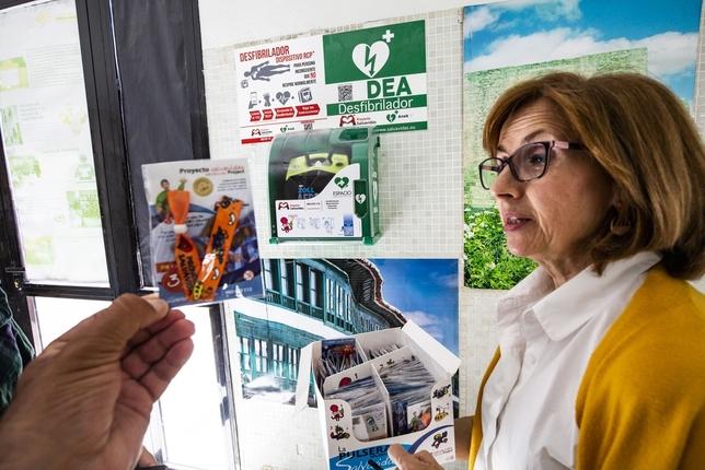 Quijotes y pulseras para la cardioprotección Rueda Villaverde