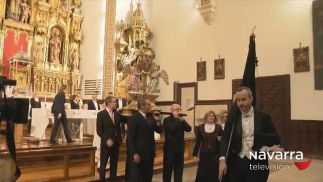 Pamplona se traslada a 1599 con el Voto de las Cinco Llagas