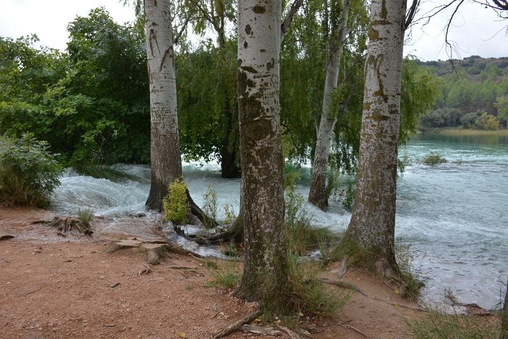 Las Lagunas De Ruidera Rebosan De Agua Por La Intensa Lluvia Noticias La Tribuna De Ciudad Real