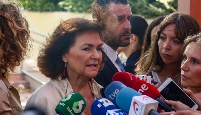 Carmen Calvo reitera el no a cualquier negociación con Bildu Europa Press
