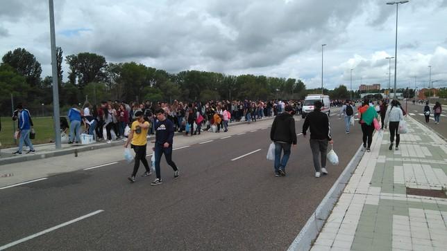 Palencia se rinde a la ITA
