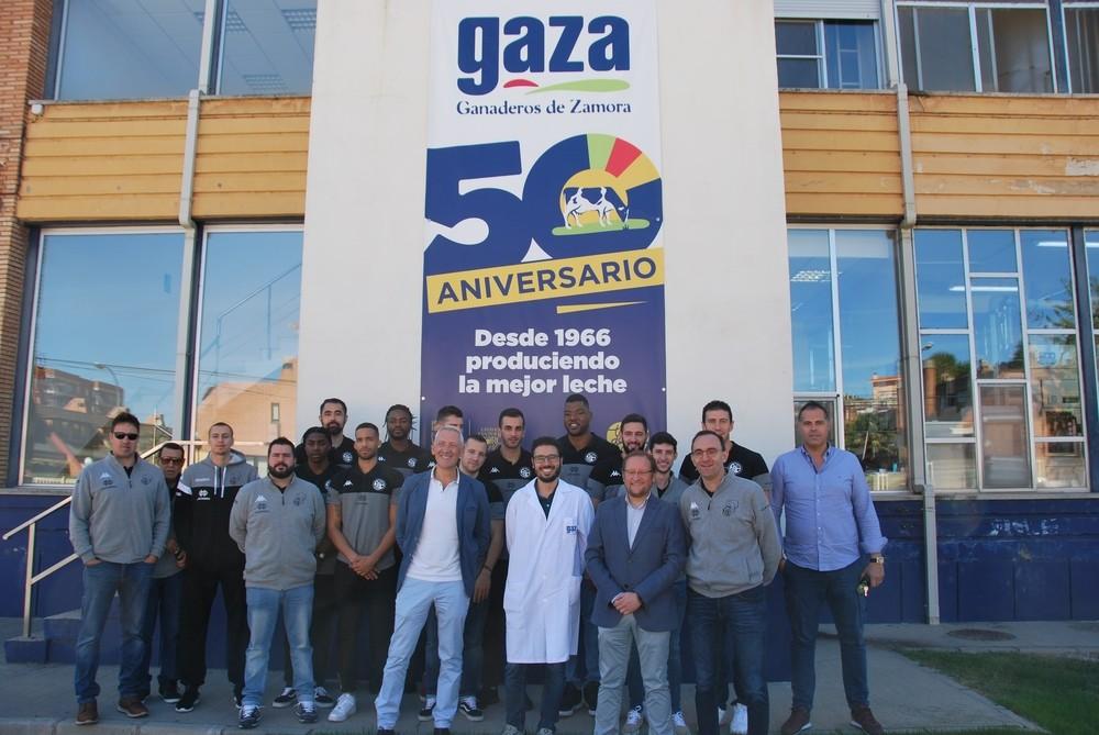 Leche Gaza, nuevo copatrocinador del club