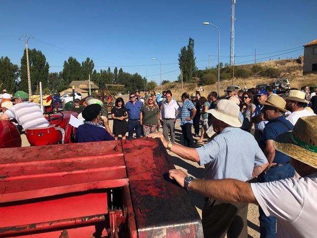 Serrano se da a la 'siega antigua' en Nepas