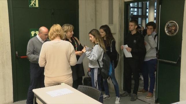 Arranca la EvAU para 3.285 estudiantes navarros