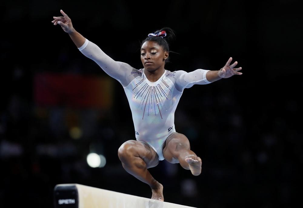 Simone Biles reinventa la gimnasia