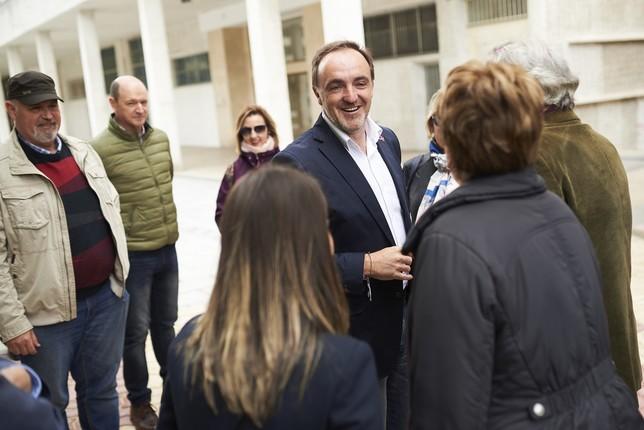 Esparza quiere que Navarra sea referente en dependencia PABLO LASAOSA