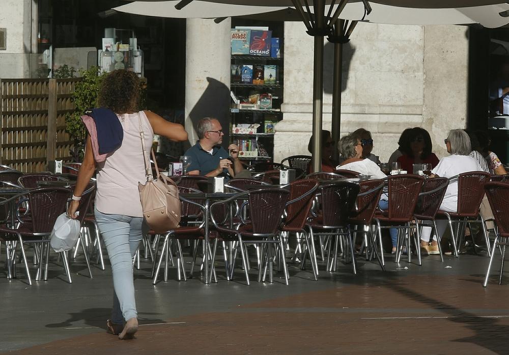 Buen tiempo y altas temperaturas en Valladolid