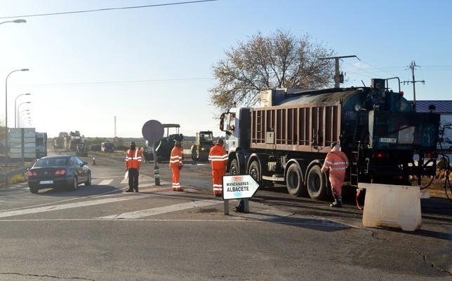 Daimiel invierte 125.000 euros en el arreglo de la N-430
