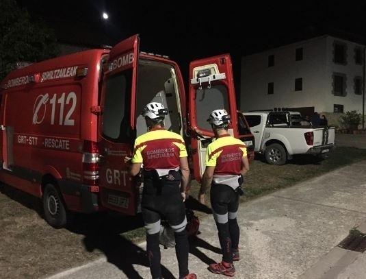 Aparece herido el hombre perdido en Aizarotz (Basaburua)