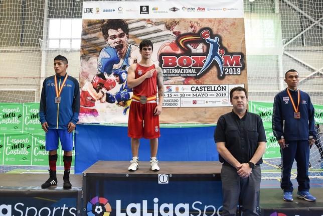 Tres oros y dos bronces en el Boxam Internacional