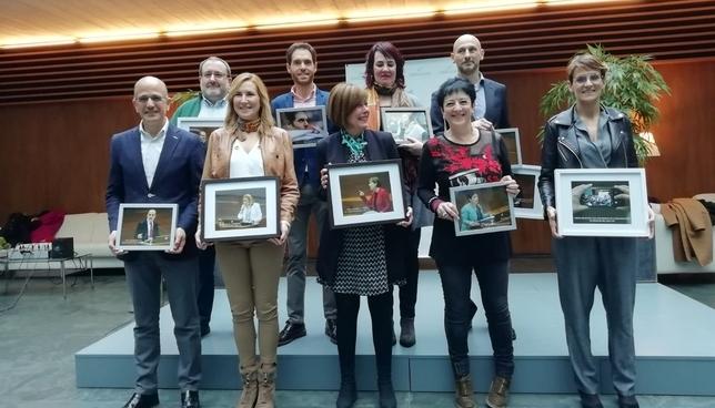 Premiados y veteranos que dejan el Parlamento, con sus recuerdos NATV