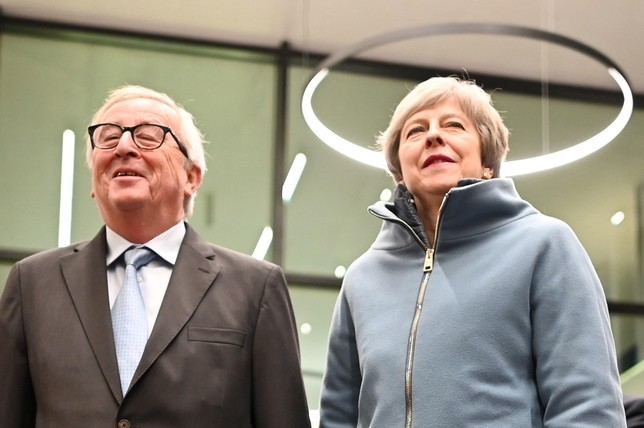 El Brexit encara su recta final PATRICK SEEGER