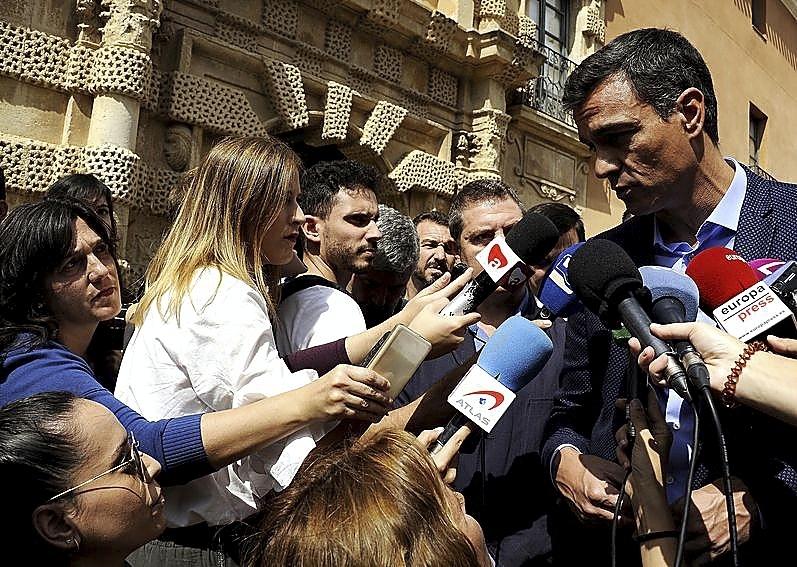 Sánchez compromete ayuda del Gobierno a las zonas afectadas