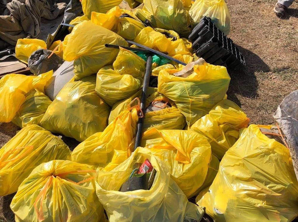 El Rosarito ya tiene 650 kilos menos de basura