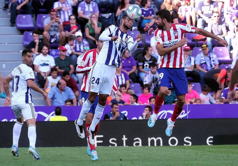 El Atlético se atasca en Valladolid