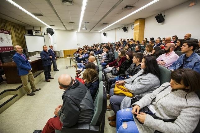 La UCLM da a conocer su oferta académica a casi mil personas Rueda Villaverde