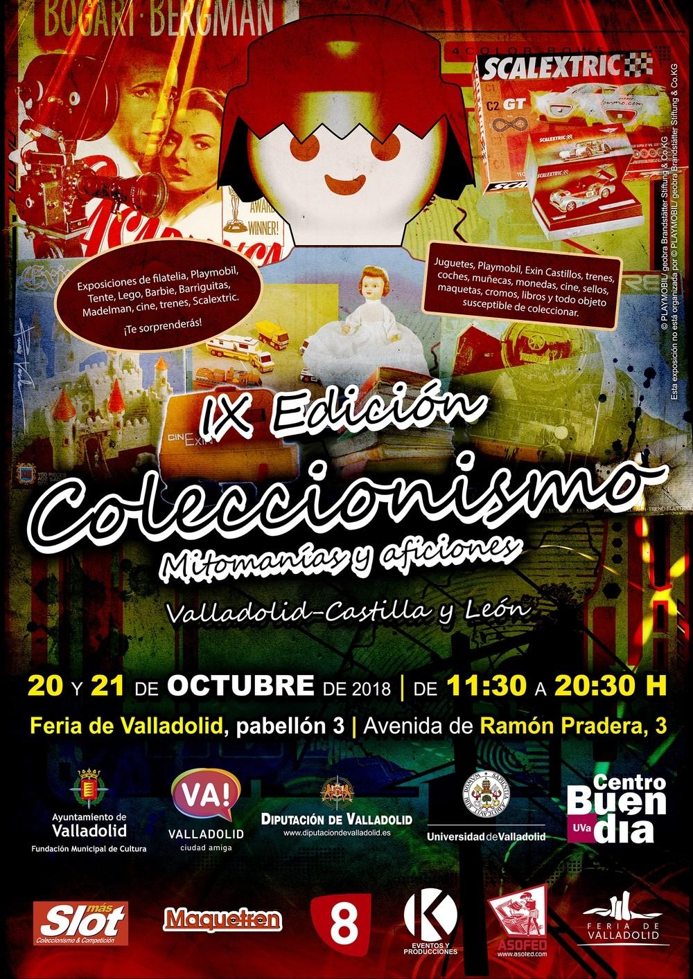 La X Feria del Coleccionismo ofrecerá 500.000 referencias