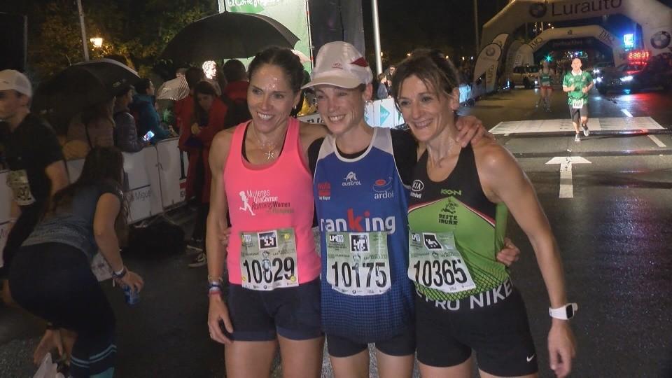 Amaia Melero se impuso en la prueba de diez kilómetros