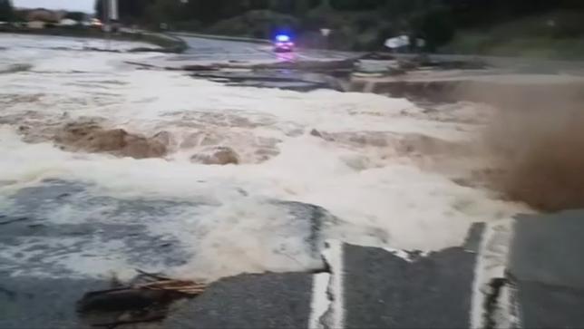 Reuniones de emergencia en Tafalla por los graves daños