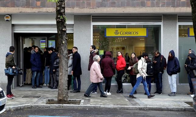 Correos recibe 250.000 votos en las últimas 24 horas Carlos Pérez
