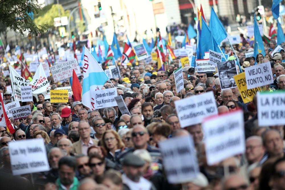 El Gobierno insiste en su compromiso con los pensionistas