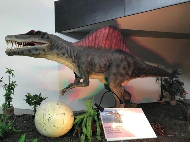 Los dinosaurios 'toman' el Lienzo Norte