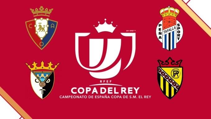 Cuatro navarros en el bombo de la Copa del Rey
