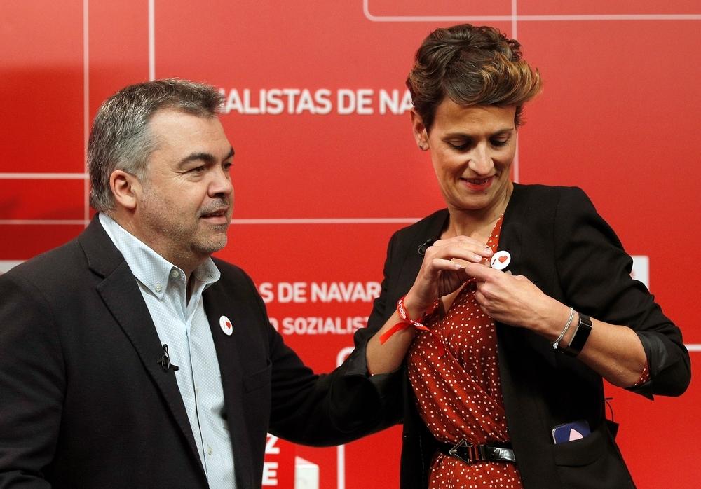 """Cerdán llama """"fascista"""" a Iñaki Iriarte de Navarra Suma"""