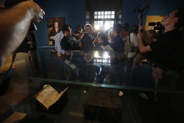 El Cantar de mio Cid se expone en la Biblioteca Nacional Javier Lizón