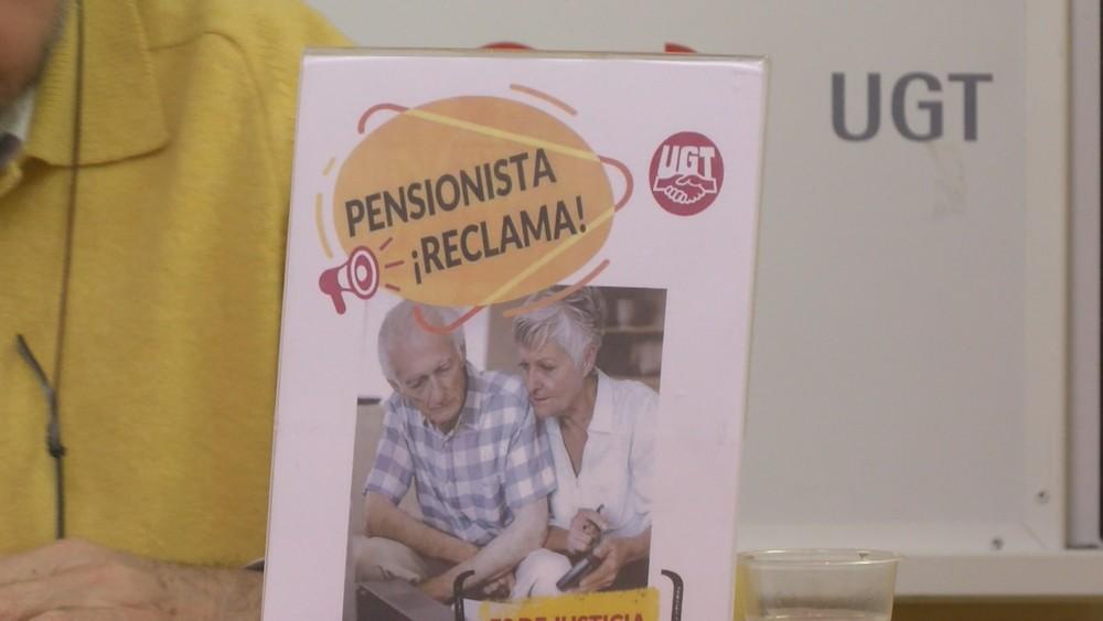UGT anima a los jubilados a que revisen su pensión