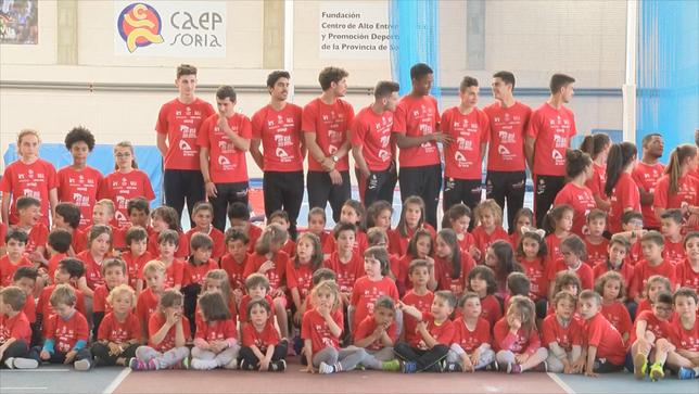 El Atletismo Numantino ya mira a Castellón