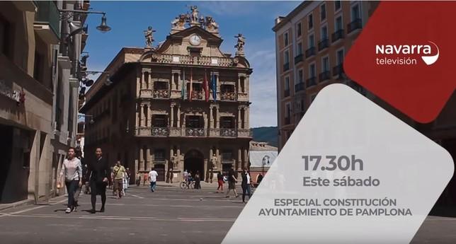 La conformación de los ayuntamientos, en Navarra Televisión NATV
