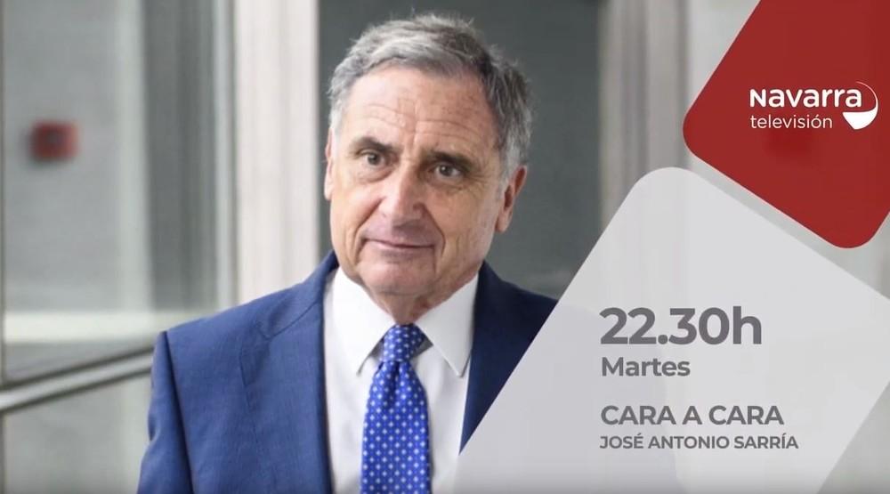 José Antonio Sarría, presidente de la CEN, hoy 'Cara a Cara'