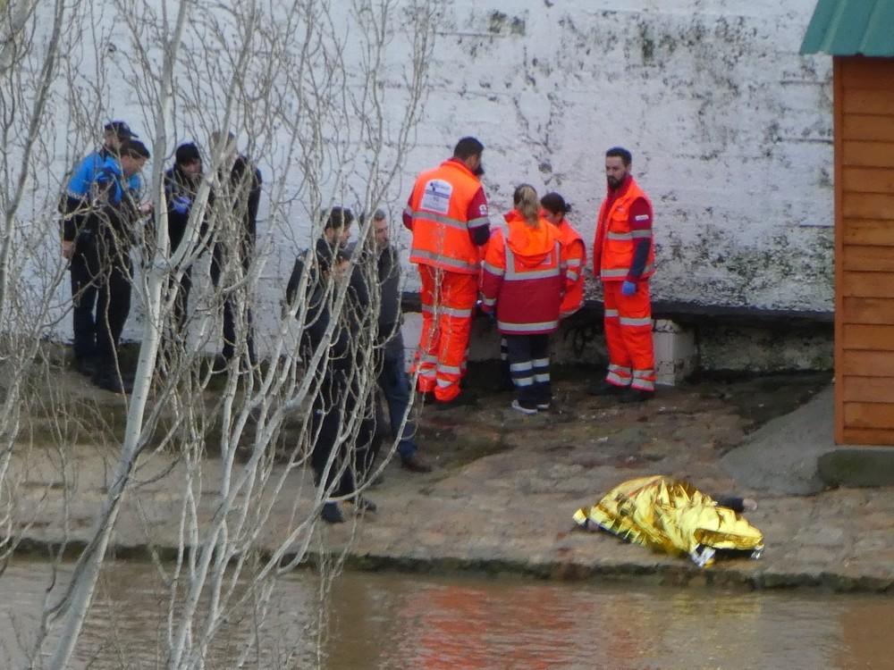 Rescatan el cadáver de un hombre en el Pisuerga
