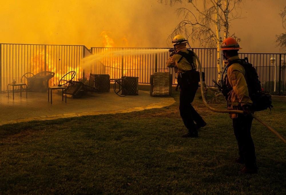 Los fuegos en California se cobran una vida