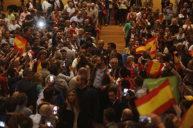 Mitín de Santiago Abascal en Valladolid J.T.