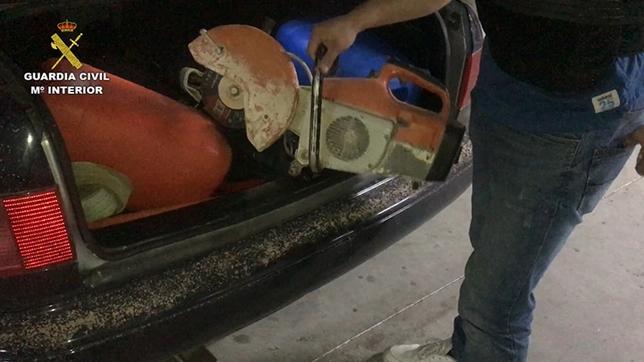 Desarticulan una banda que arrancaba cajeros automáticos