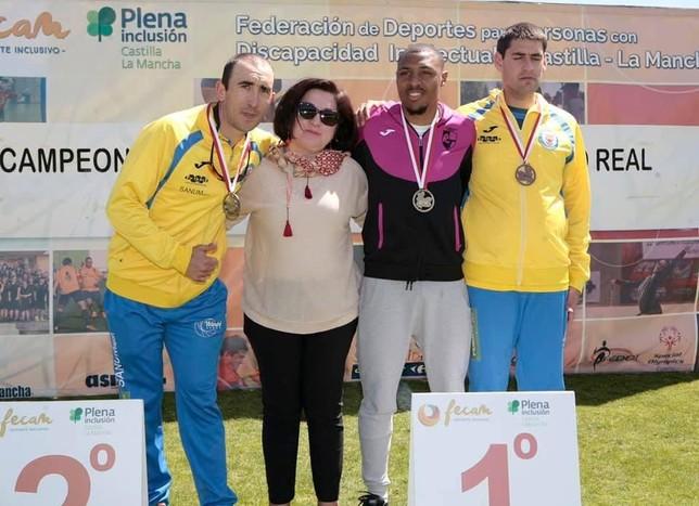 Diez medallas para el Realidad Toledo en el Regional Fecam