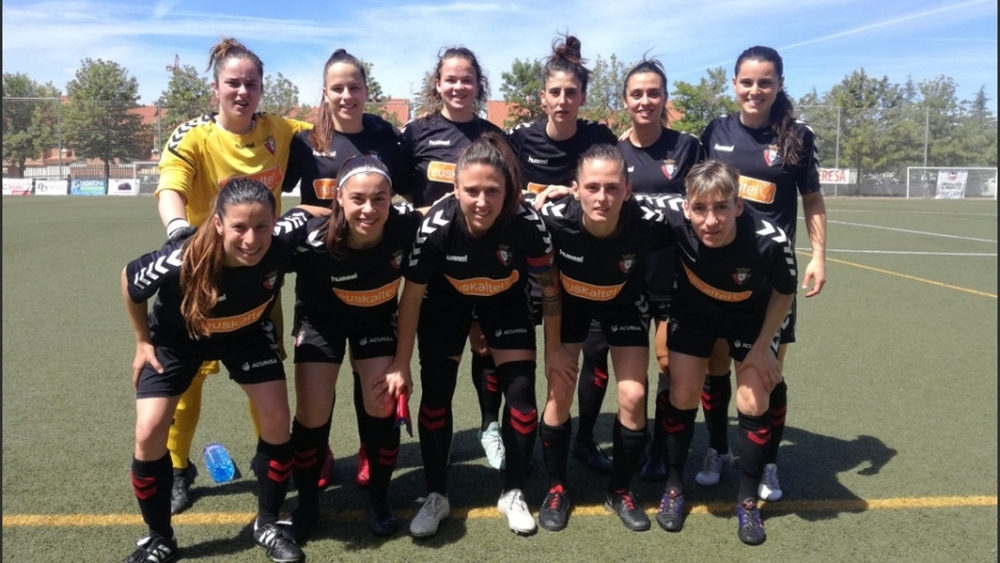 Osasuna femenino sufrió su primera derrota de la temporada