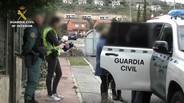 8 detenidos en una gran operación de la Guardia Civil