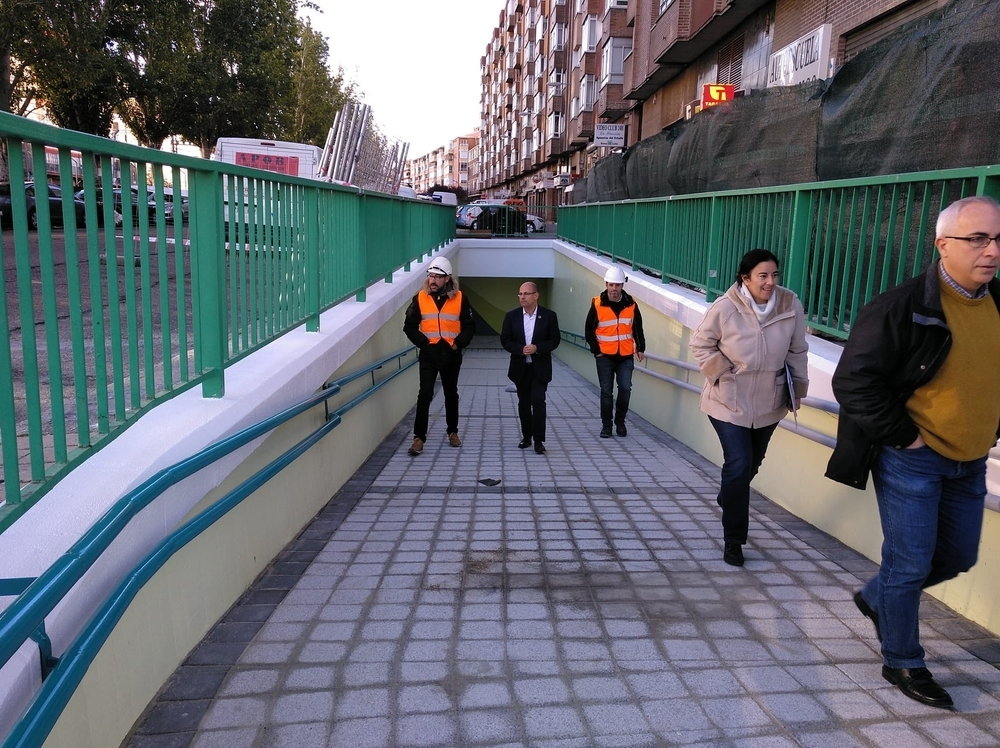 Reabre esta tarde el túnel peatonal de San Isidro