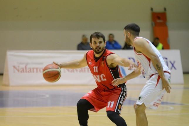 Giano, en el partido ante el Real Murcia disputado en Arrosadía. Iñaki Martínez