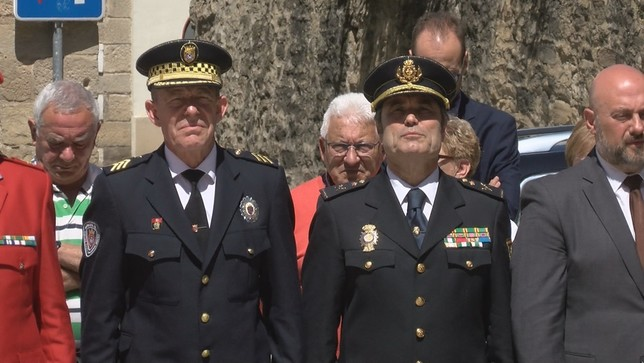 Sangüesa homenajea a las últimas víctimas de ETA en Navarra NATV